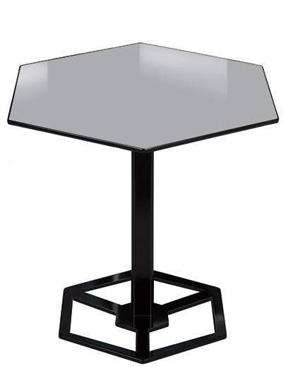Illusion table 2222 edition design purpose lamp - Table haute design industriel ...